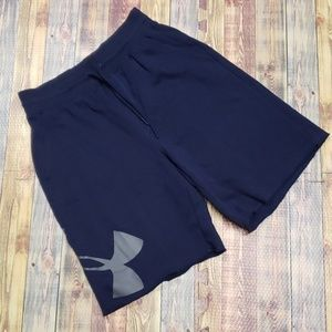 UNDERARMOUR MENS HEATGEAR WORK OUT SHORTS